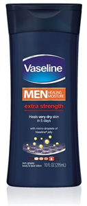 Vaseline Men Healing Moisture Extra Strength Lotion