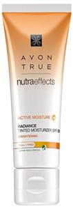 Avon True Nutra Effects Ragyogást Kölcsönző Színezett Hidratáló SPF20