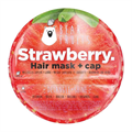Bear Fruits Strawberry Detangle+Shine Hair Mask & Cap