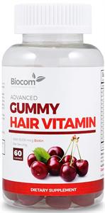Biocom Gummy Hair Vitamin