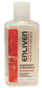 Enliven Raspberry And Red Apple Shower Gel