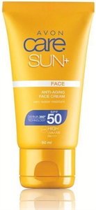 Avon Care Sun+ Anti-Aging Fényvédő Arckrém SPF50/PA+++