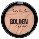 Lovely Golden Glow Púder
