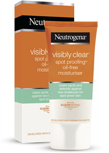 Neutrogena Visibly Clear Spot Proofing Olajmentes Hidratáló Krém