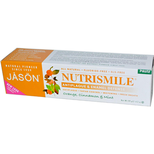 Jasön Natural Nutrismile Antiplaque Orange-Cinnamon Paste