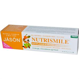 Jasön Natural Nutrismile Antiplaque Orange-Cinnamon Paste