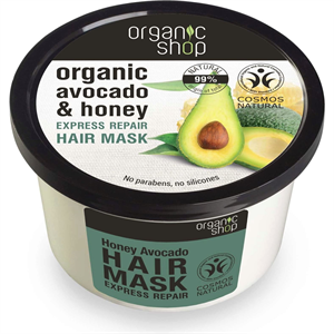 Organic Shop Honey Avocado Express Repair Hajmaszk