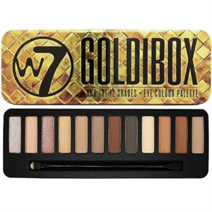 W7 Goldibox Eye Color Palette