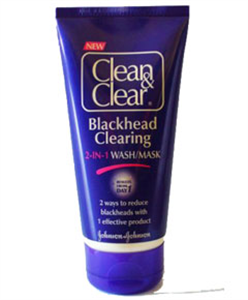 Clean&Clear Blackhead Clearing 2 in 1 Wash Mask