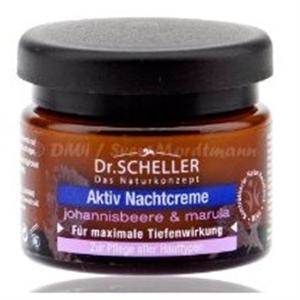 Dr. Scheller Aktív Éjszakai Krém Feketeribizlivel és Marulával