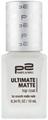 p2 Ultimate Matte Fedőlakk