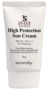 Secret Key UV Cut High Protection Sun Cream SPF50+ / PA+++
