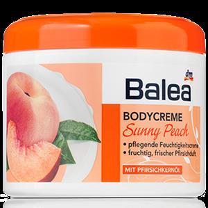 Balea Bodycreme Sunny Peach