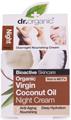 Dr. Organic Éjszakai Krém Bio Szűz Kókuszolajjal