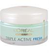 L'Oreal Triple Active Fresh Hidratálókrém Normál és Kombinált Bőrre