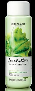 Oriflame Love Nature Arctisztító Zselé Aloe Verával