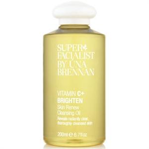 Super Facialist by Úna Brennan Vitamin C+ Brighten Skin Renew Cleansing Oil