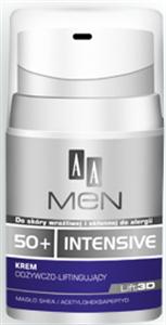 AA Men Intensive 50+ Tápláló és Lifting Hatású Arckrém