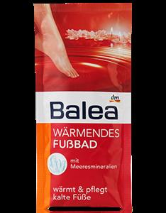 Balea Wärmendes Fußbad Melegítő Lábfürdő
