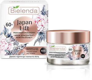 Bielenda Japan Lift - 60+ Ránctalanító és Revitalizáló Hatású Éjszakai Krém-Koncentrátum