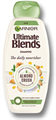 Garnier Ultimate Blends Almond Crush Mandulatej és Agavé Szirup Sampon