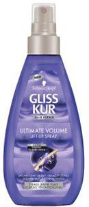 Gliss Kur Ultimate Volume Hajtőemelő Spray Tartás Nélküli, Vékonyszálú Hajra