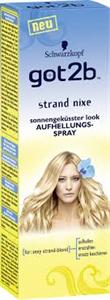 Got2b Strand Nixe Hajvilágosító Spray