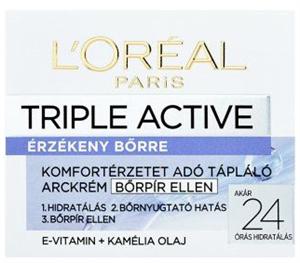 L'Oreal Paris Triple Active Érzékeny Bőrre