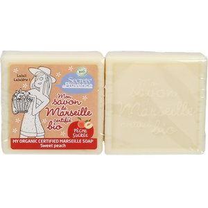 Secrets de Provence Marseille Szappan-Cukorédes Őszibarack