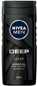 Nivea Men Deep Clean Tusfürdő