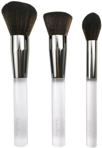 Opulent Crystal Clear 3Pc Brush Collection