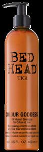Tigi Bed Head Colour Goddess Színvédő Sampon Barna és Vörös Hajra
