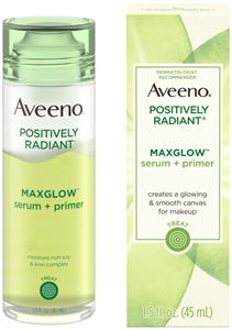 AveenoPositively Radiant Maxglow Serum + Primer