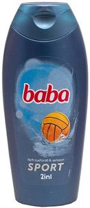 Baba Sport 2In1 Férfi Tusfürdő és Sampon
