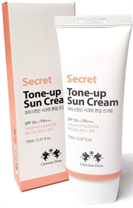 Christian Dean Korean Secret Tone Up Sunscreen Cream SPF50+ PA+++