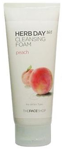 Thefaceshop Herb Day 365 Cleansing Foam - Peach