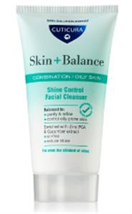 Cuticura Shine Control Facial Cleanser
