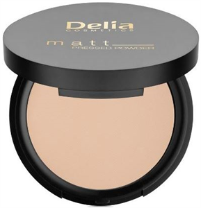 Delia Cosmetics Matt Pressed Powder
