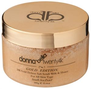 Donna Bella 24K Gold Deluxe Salt Scrub Milk & Honey