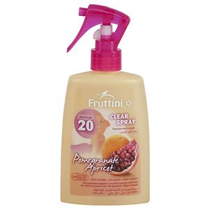 Fruttini Napozó Spray Gránátalma & Barack SPF20