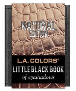 L.A. Colors Little Black Book Szemhéjpúder Paletta