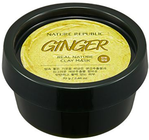 Nature Republic Real Nature Clay Mask - Ginger
