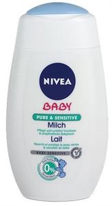 Nivea Baby Pure&Sensitive Testápoló Tej