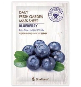 Skin Planet Daily Fresh Garden Mask Sheet - Blueberry