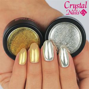 Crystal Nails Chromirror Króm Pigmentpor