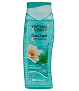 Wellness&Beauty Vitality Lotus und Wasserminze Duschgel mit Ölperlen