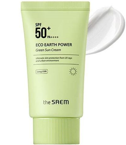 The Saem Eco Earth Power Green Sun Cream SPF50+ / PA++++