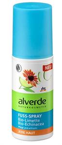 Alverde Láb-Spray Bio Lime és Bio Kasvirág