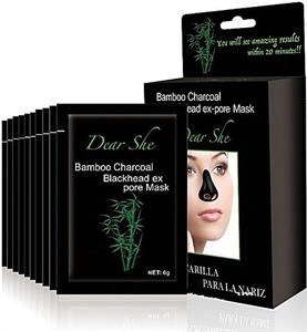 Dear She Bamboo Charcoal Blackhead Ex Pore Mask