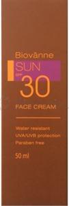 Biovanne Sun SPF30 Face Cream